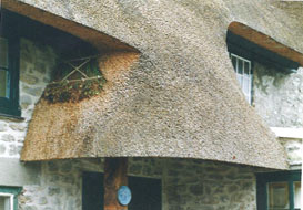 Master Thatchers Thatching In Wiltshire Thatching Process